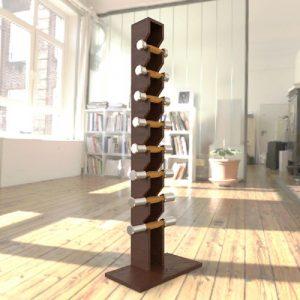دمبل با استند چوبی