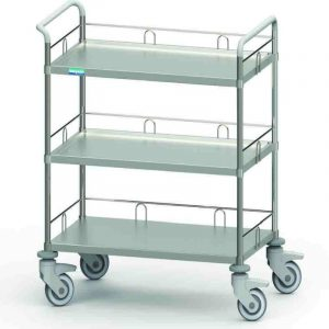 Dressing and medical cart model TH3S